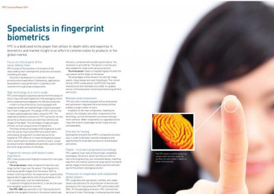 Fingerprint Cards årsredovisning 2011