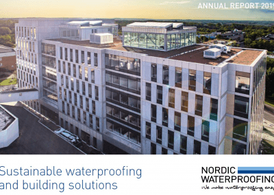 Nordic Waterproofing Annual Report 2019